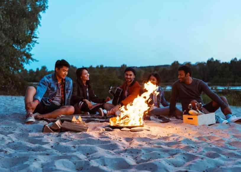 kamp eğlencesi