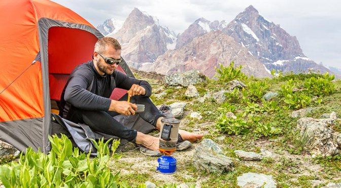 Çadırda Kamp Ocağı Kullanımı
