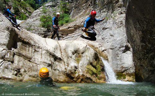 (Canyoning) Kanyon Geçişine Hazırlık