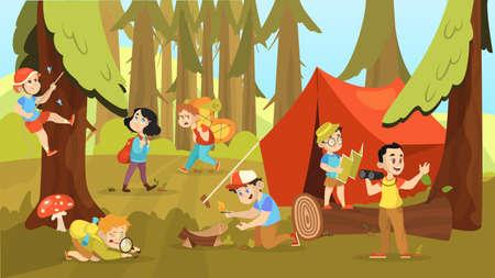 Eğlenceli Kamp Oyunları
