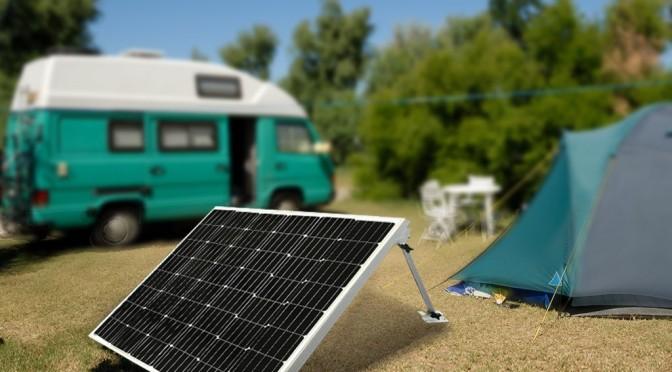 Kampta Güneş Enerjisi Kullanımı