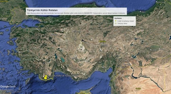 Türkiye'deki Kültür Ve Yürüyüş Yolları 4 Likya Yolu Yürüyüş Rotası
