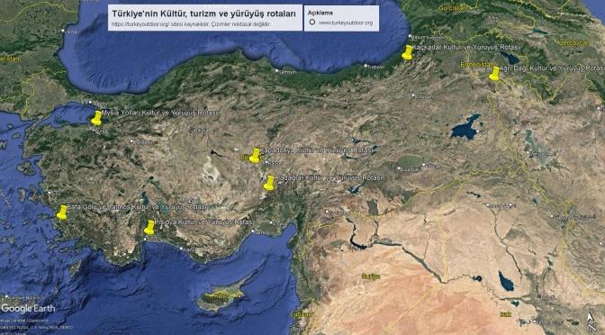 Türkiye'deki Kültür Ve Yürüyüş Yolları 3