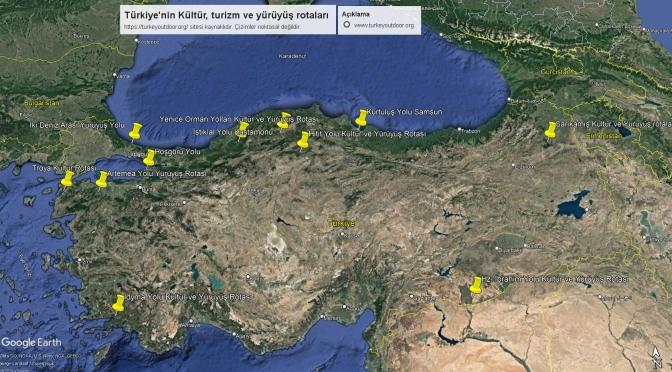 Türkiye'deki Kültür Ve Yürüyüş Yolları 1