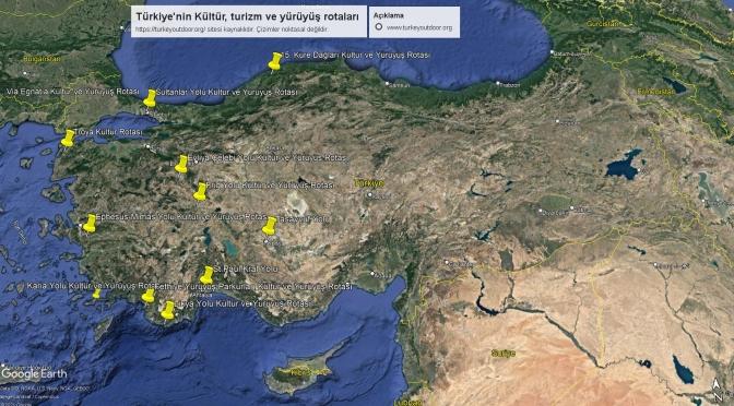 Türkiye'deki Kültür Ve Yürüyüş Yolları 2