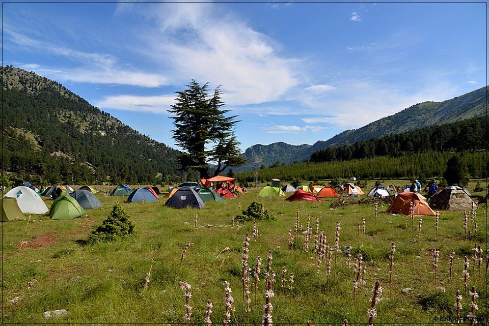 Karboğazı, Medetsiz Dağı Tırmanışı Kamp Alanı ve Karboğazı Baskını,