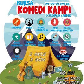 Bursa'da Komedi Kampı Başlıyor