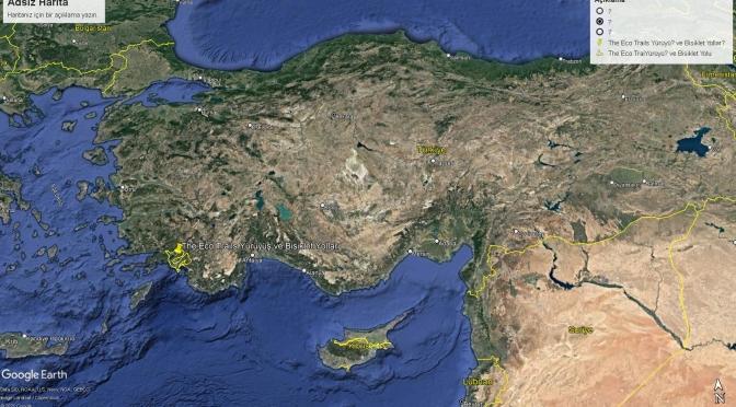 TÜRKİYE'DEKİ KÜLTÜR VE YÜRÜYÜŞ YOLLARI 5 THE ECO TRAILS BİSİKLET VE YÜRÜYÜŞ ROTASI